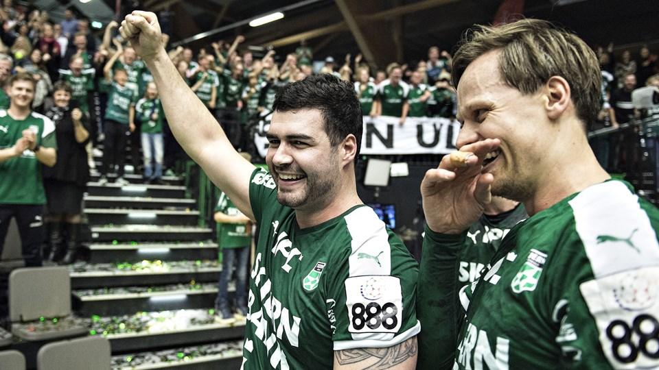 Daniel Svensson sluttede karrieren i Skjern. (Arkivfoto)