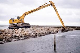 Vandvej blokeret af sand: Sejlrende i Asaa bliver ikke klar til påske