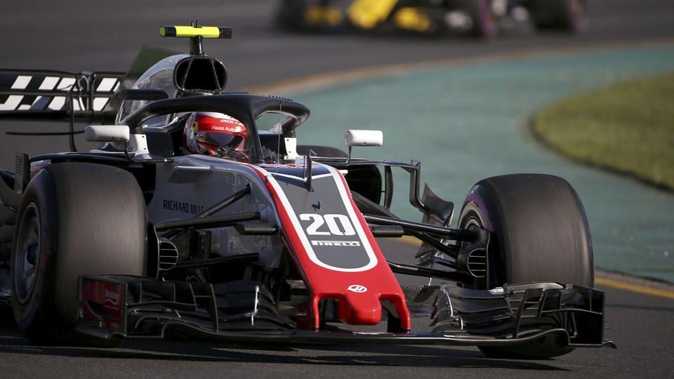 Kevin Magnussen kørte i sjettehurtigste tid i lørdagens kvalifikation i Melbourne. Foto: Scanpix/Rick Rycroft