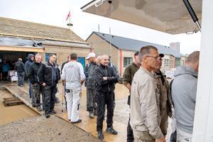 Glæde over at tom sygehusgrund i Terndrup nu endelig bebygges: se billeder fra rejsegildet