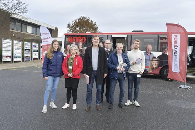 NORDJYSKEs bus holder nu i Støvring