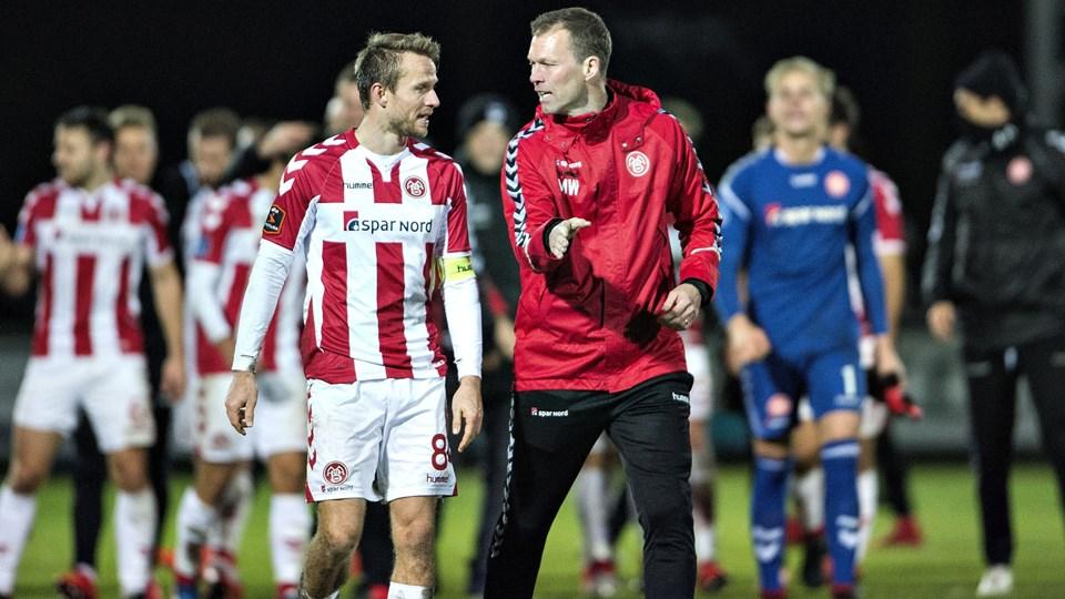 Rasmus Würtz har været anfører i AaB, mens Morten Wieghorst har stået i spidsen for den nordjyske klub.