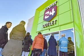 Sport 24 Outlet slog dørene op i Thisted