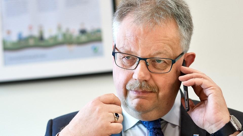 Ifølge borgmester Mogens Chr. Gade (V) var der tre velkvalificerede bud at vælge mellem. Men valget som totalrådgiver på skolebyggeriet faldt på Norconsult-KAAI A/S. Arkivfoto: Henrik Bo
