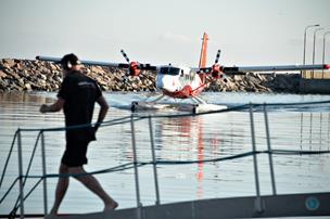 Flyvende start på uge 29 i Skagen: Sommergæster ankom med fly fra København