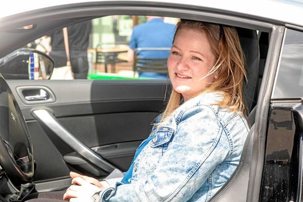 Turen i den smarte bil går ud i det blå med sønnerne. Foto: Aage Møller-Pedersen