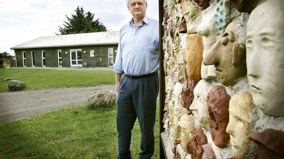 Thorkild Poulsen, mangeårig leder af Brovst Asylcenter, er klar til for første gang at lede et asylcenter uden for Nordjylland. Arkivfoto: Claus Søndberg