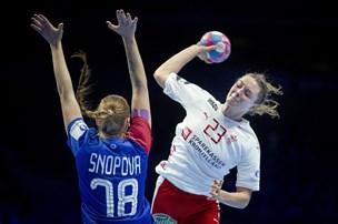 Russisk boldkunst drukner håndboldkvindernes medaljehåb