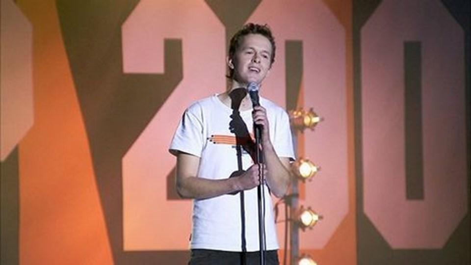 Elias Ehlers vandt DM i Stand-Up 2006. 18. januar besøger han Café Ciffy. Privatfoto