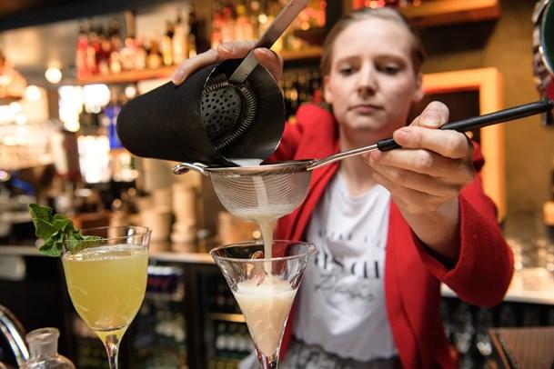 Cocktailbar med et nordisk ansigt