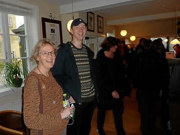 Janni og Kristian Kjærgaard var begejstret over filmfestivalen - naturen har en væsentlig plads i deres liv.