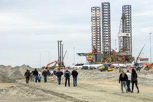 Folkefest for investering til en milliard kroner: Udvidelsen af havn blev fejret