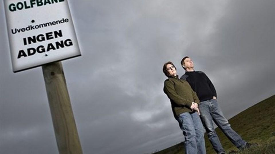 Bodil og Jens Arne Abildgaard har fået Landsskatterettens ord for, at de ikke skal beskattes af avancen på salg af jord til en golfbane. Arkivfoto: Claus Søndberg
