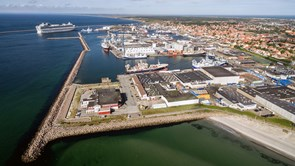 Miljøasfalt testes af Skagen havn
