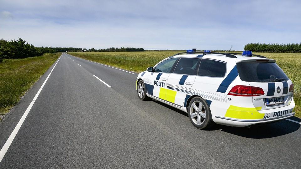 Politiet vil øge patruljering i sommerhusområderne i den mørke tid. Arkivfoto