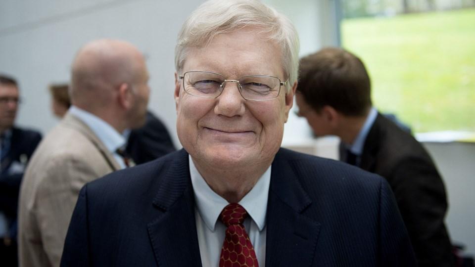 Direktør Bjarne Hastrup fra Ældre Sagen glæder sig over flere ting i den nye finanslov. (Arkivfoto)