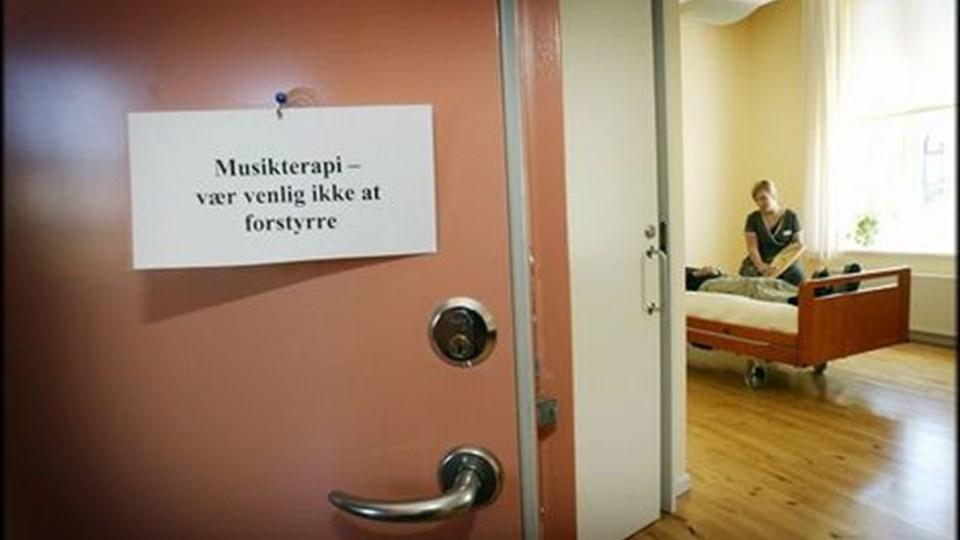 Regeringen har stillet en pulje til rådighed for etablering af hospice-pladser. Det betyder, at der landet over kommer en række nye pladser.  Arkivfoto: Per Kolind
