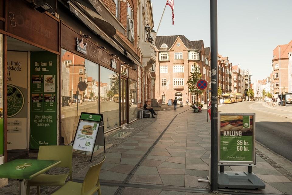 Det er her på adressen Boulevarden 22, den ny restaurant holder til. Foto: Lasse Sand