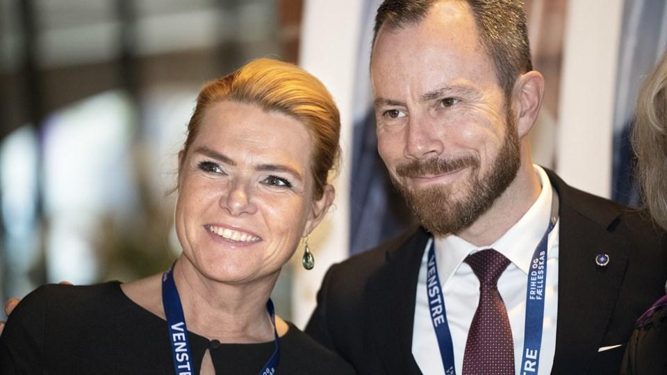 Inger Støjberg vil være Venstres næstformand, og hun bakker op om Jakob Ellemann-Jensen som formand. (Arkivfoto) Jens Nørgaard Larsen/Ritzau Scanpix