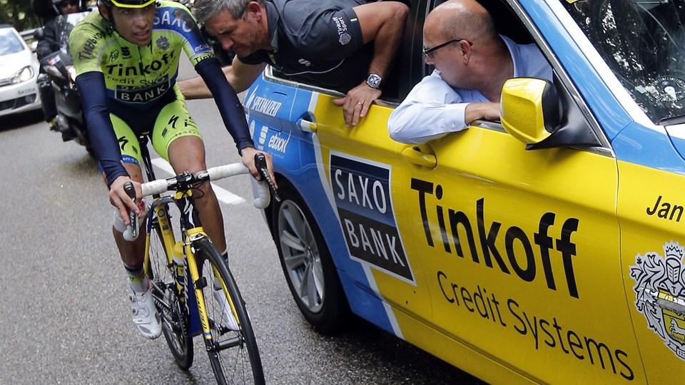 Tinkoff-Saxo skifter til Tinkoff Team, meddeler Oleg Tinkov. Arkivfoto: Jean-Paul Pelissier/Reuters