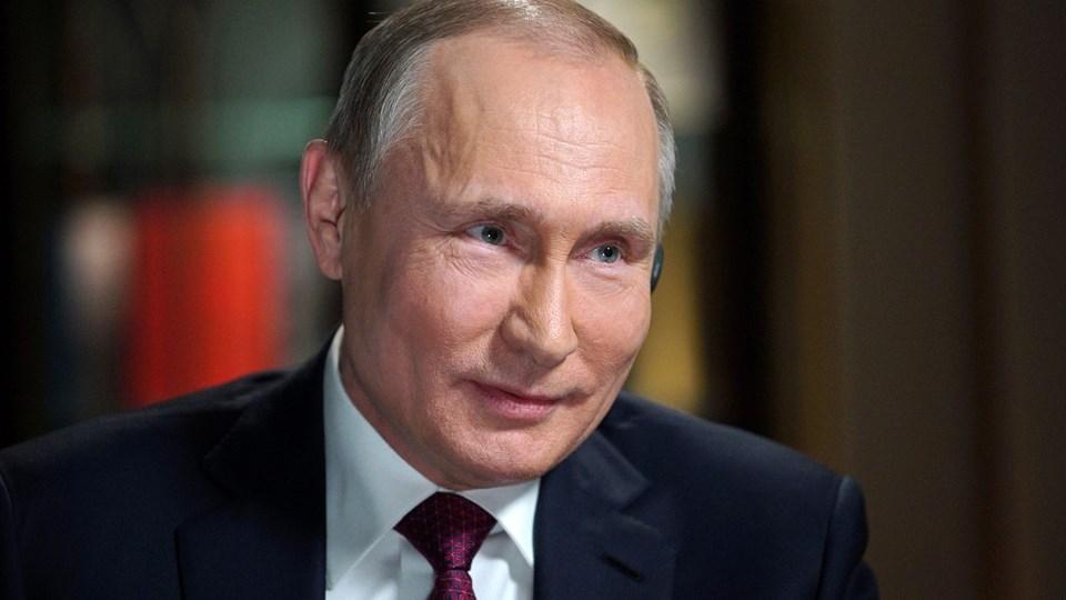 Vladimir Putin genopstiller til det russiske præsidentvalg søndag den 18. marts, hvor han ventes at vinde. Arkivfoto: Reuters/Sputnik