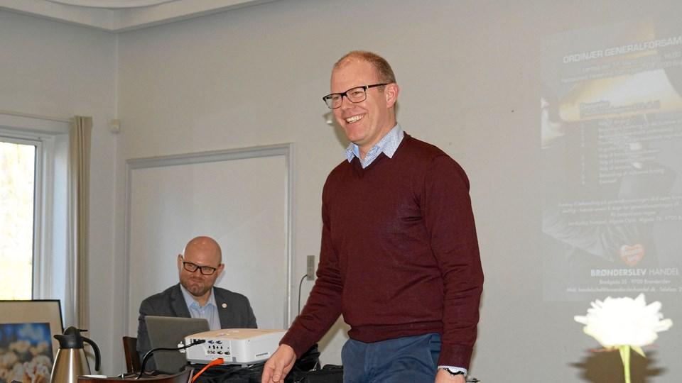 Jan Kjølby: Snakken om Brønderslevs død som handelsby er overdrevet. Privatfoto