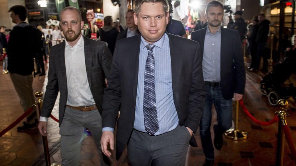 Folketingskandidat for Stram Kurs har trukket sig, efter at han så debatter tirsdag aften efter valgudskrivelsen. (Arkiv.)