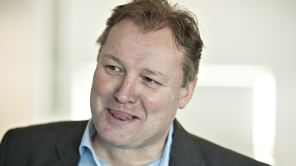 Ole Nielsen tiltrådte som afløser for Glen Riddersholm i Vendsyssel. Arkivfoto.