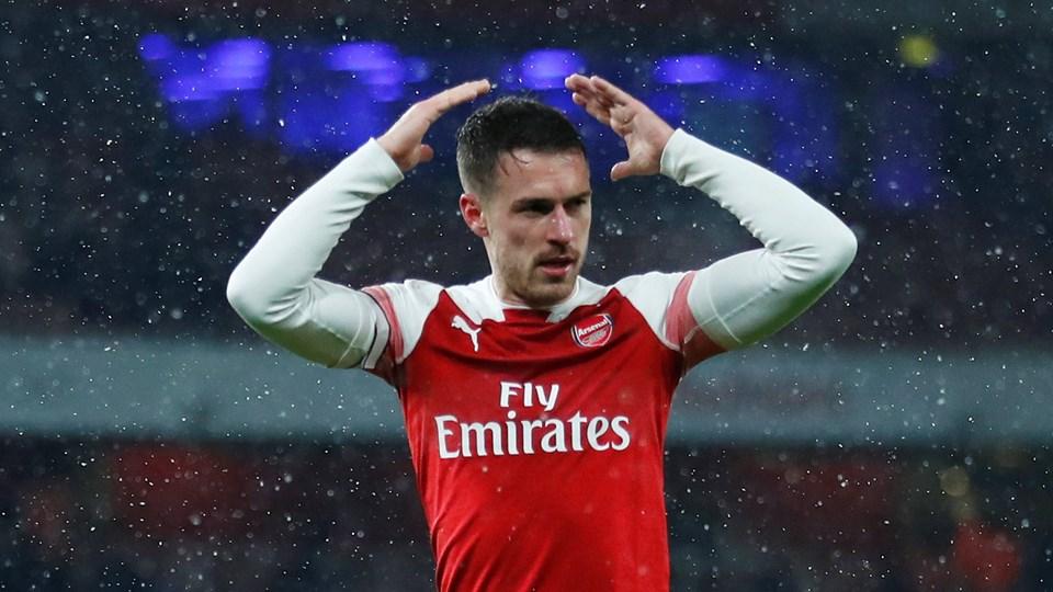 Aaron Ramsey er i gang med sine sidste måneder som Arsenal-spiller.