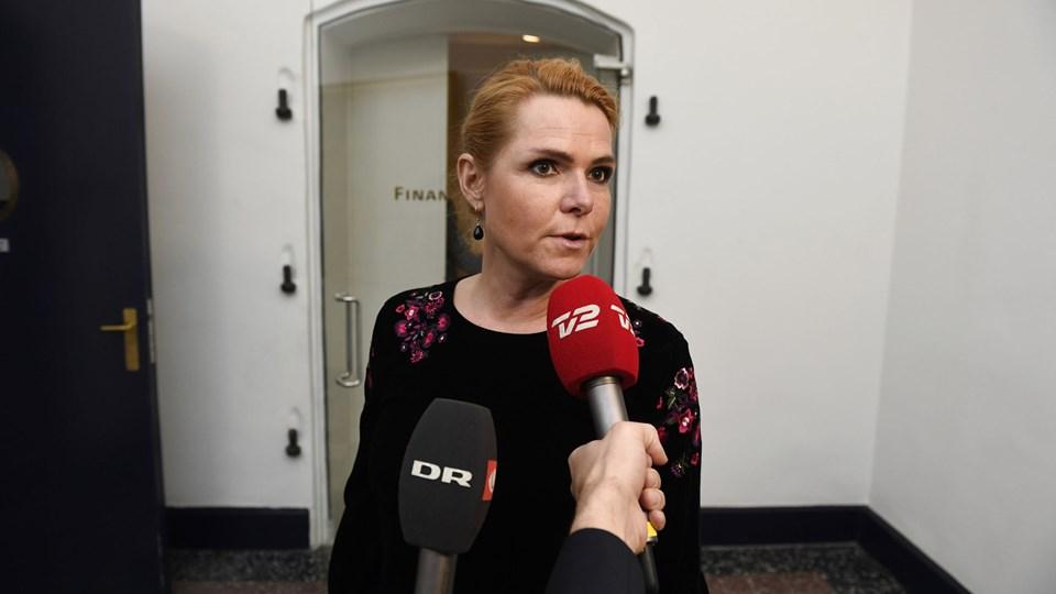 Udlændinge- og integrationsminister Inger Støjberg (V) kan ikke få gennemført forslaget om at åbne for mere udenlandsk arbejdskraft. Foto: Tariq Mikkel Khan/Ritzau Scanpix