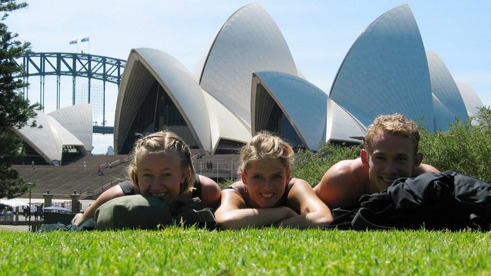 Sommeren i Australien var rekordvarm. Arkivfoto