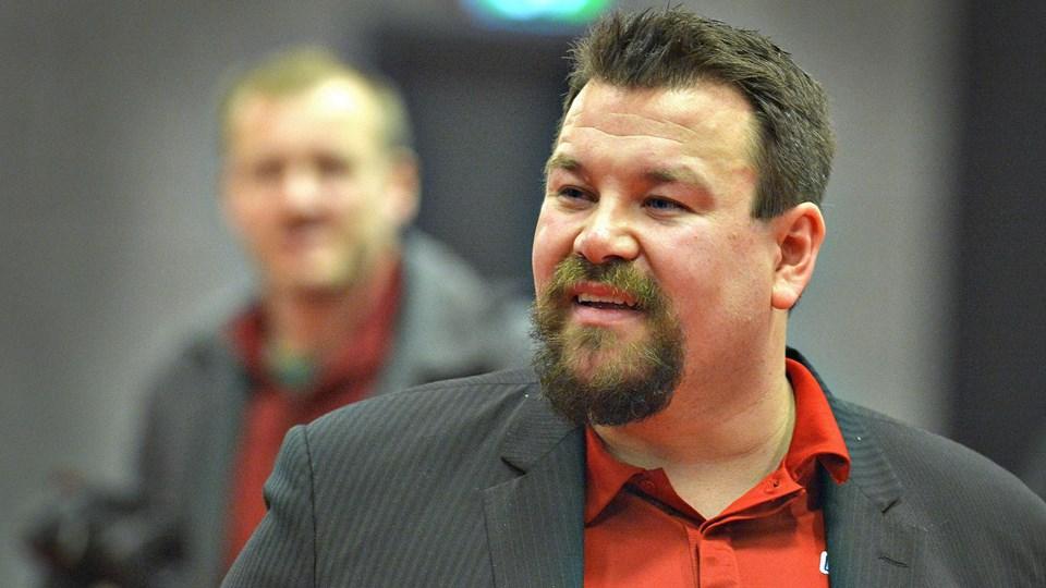 Simon Rokkjær var nogenlunde tilfreds trods nederlaget.Arkivfoto: Bent Bach
