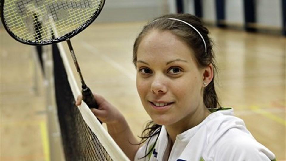 Anne Hald var en af de spillere, Triton måtte undvære i opgøret mod ESG Esbjerg. Foto: Michael Bygballe