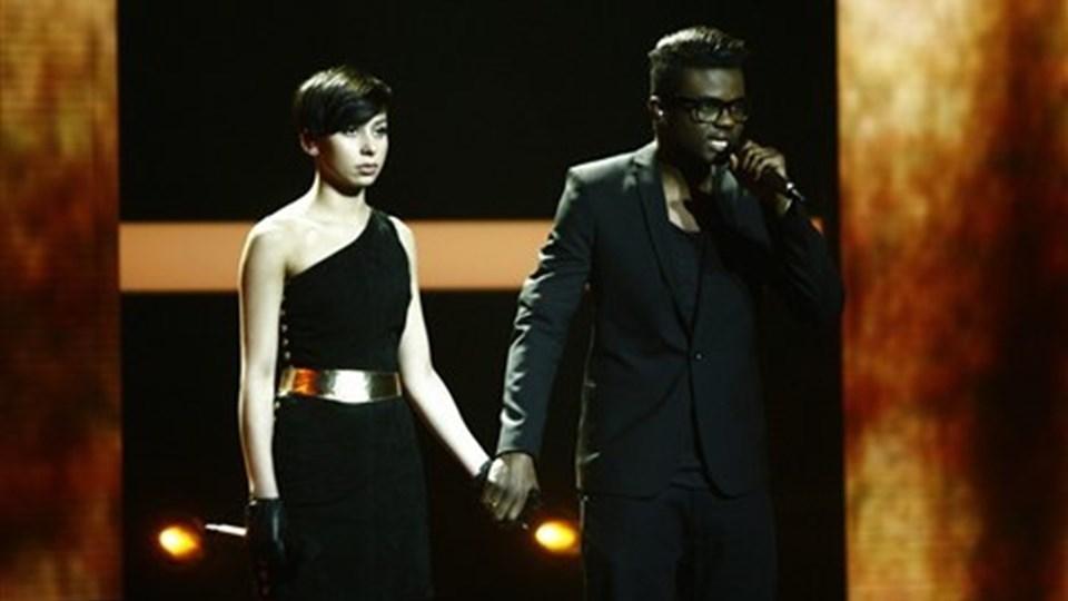 Jean Michel - uden partneren Nicoline Simone skal være X-factor dommer - eller er det mon en aprilsnar? Arkivfoto.