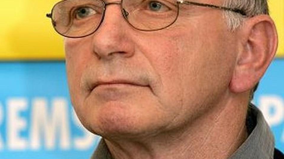 Steve Thomsen har fået besked på, at han er fortid i Fremskridtspartiet. Arkivfoto: Carl Th. Poulsen