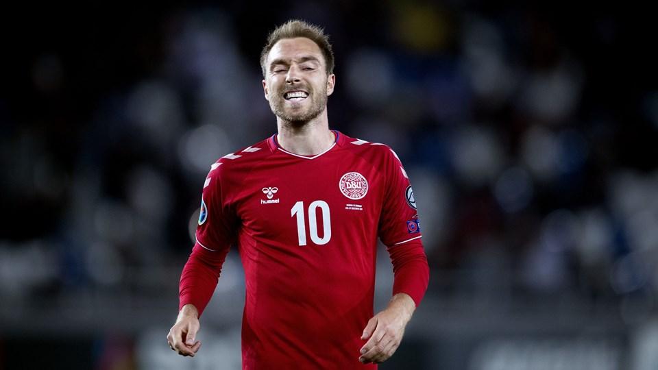 Christian Eriksen scorede to mål i torsdagens 6-0-sejr over Gibraltar, men Tottenham-stjernen formåede ikke at score i søndagens 0-0-kamp ude mod Georgien.