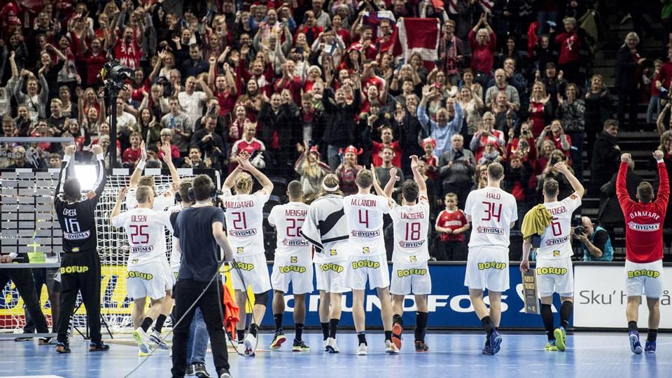 Der var fest i Royal Arena torsdag. Nu skal Jyske Bank Boxen også i VM-stemning. Foto: Mads Claus Rasmussen/Ritzau Scanpix