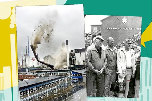 Husker du øjeblikkene? Aalborgs forvandling fortalt i billeder - fra 1959 til 2019