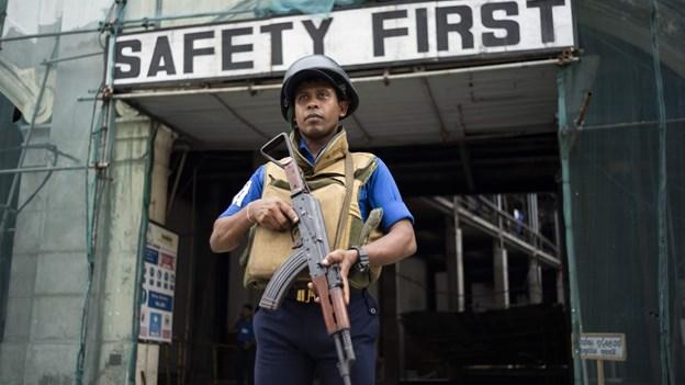 IS tager ansvaret for selvmordsbomber i det østlige Sri Lanka
