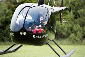 Planer om fast landingsplads for helikoptere