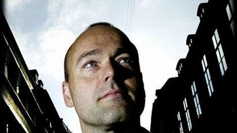 Peter Øvig Knudsen har begået en medrivende bog om Blekingegadebanden og kommer nu til Aalborg. Foto: Scanpix