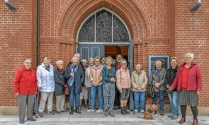 Pilgrimsvandring i Løgstør og gudstjeneste