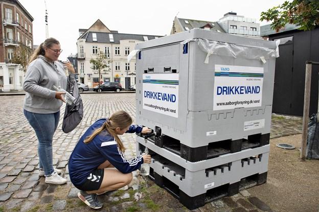 Colibakterier årsag til vandforurening i Aalborg
