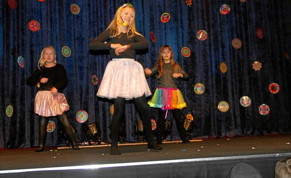 127 børn gav den gas til MGP-show