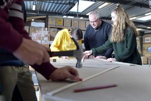 Matematik i praksis: Elever fra Tårs får formlerne hamret ind på den gode måde