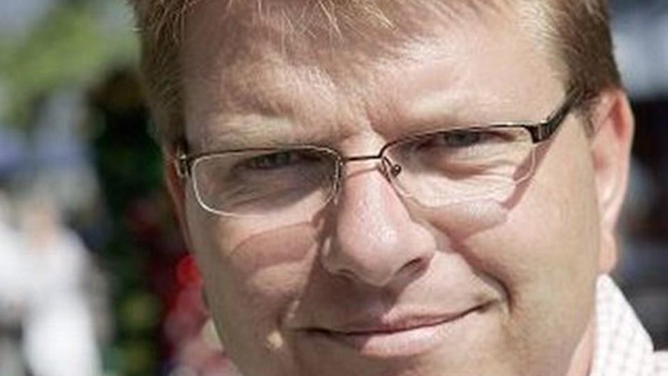 Michael Frederiksen åbner selvstændig virksomhed, men fortsætter som handelschef. Arkivfoto: kim dahl hansen