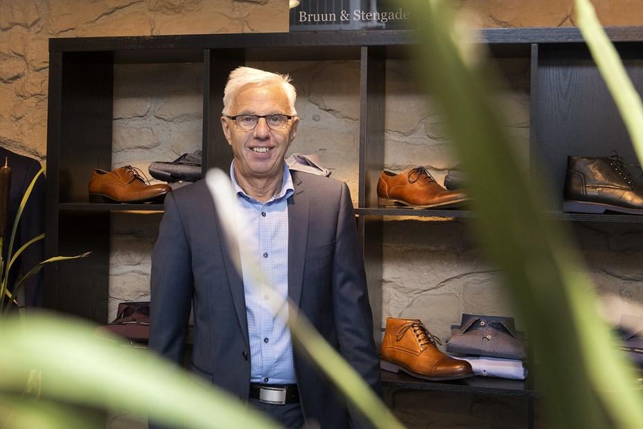 Hans Jørgen har klædt Hobros herrer på i mere end 40 år - nu går han på pension
