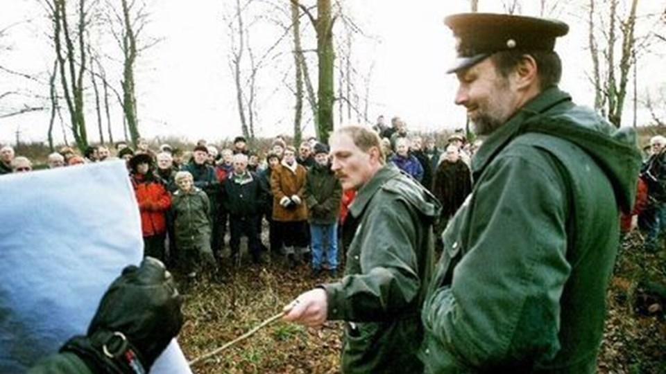 Statsskoven begunstiger Rebild med en øget indsats for at åbne skov og natur for befolkningen, her gældergenskabelsen af højmosen ved St. Økssø. arkivfoto: grete dahl