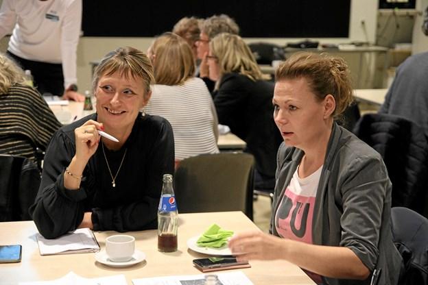 Der var stor interesse for projektet. Foto: Flemming Dahl Jensen Flemming Dahl Jensen