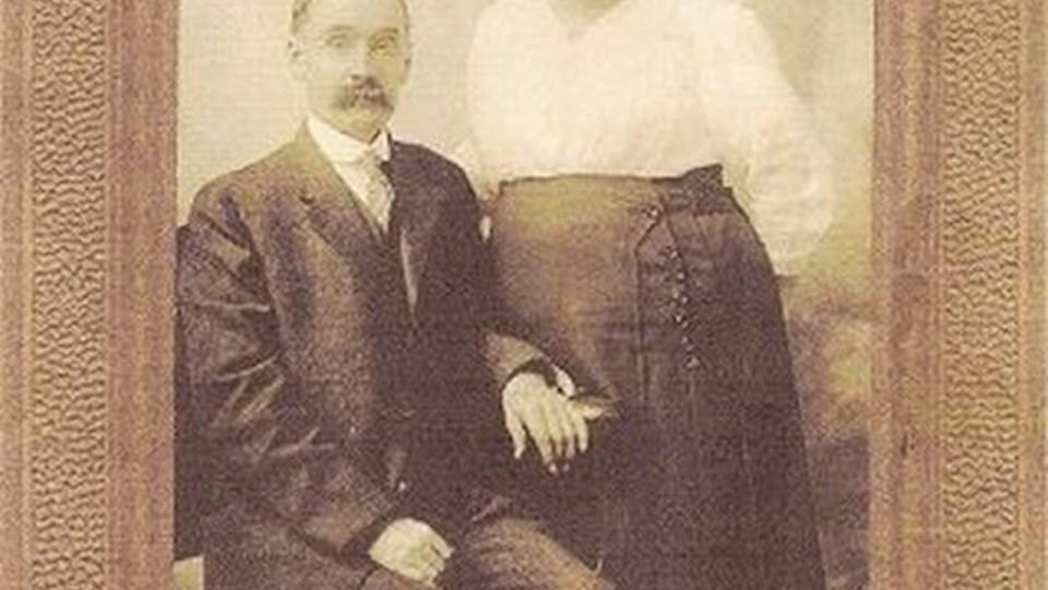 Kresten peter og Anine Sørensen kom oprindeligt fra Hjørring, men grundlagde en stor slægt i USA, som nu leder efter den danske forhistorie.